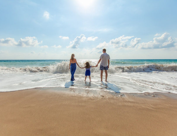 famille vacances mer cote d'azur